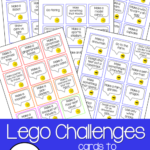 Free LEGO Challenge Cards