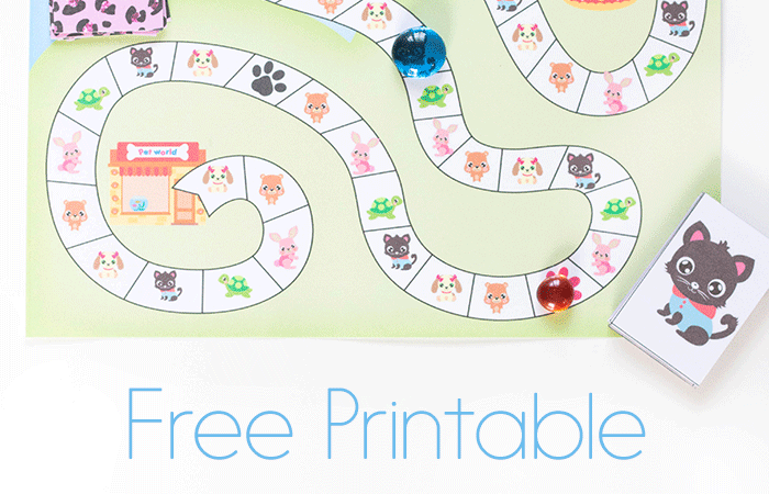 Littlest Pet Shop Printable Board Game
