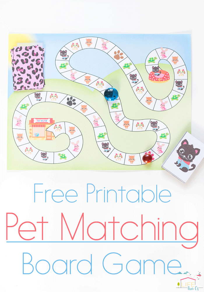 If you have a Littlest Pet Shop fan in your house, don't miss this FREE printable matching board game! :: www.thriftyhomeschoolers.com