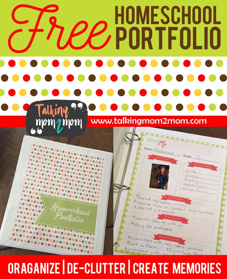 picture relating to Printable Portfolio known as Homeschool Scholar Portfolio Printables - Thrifty Homeschoolers