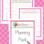 FREE June Homeschool Planning Pack