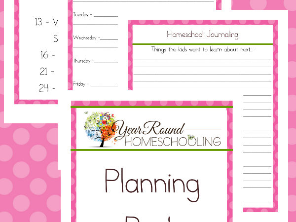 FREE June Homeschool Planning Pack