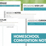 Free Homeschool Convention Notebook