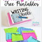 Writing Tools Printable Freebie