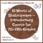 LIMITED TIME FREEBIE: 10 Weeks of Shakespeare Online Course