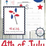 4th of July PreK-2nd Printable Pack