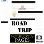 Free Road Trip Notebooking Pages