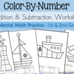 Color By Number for Addition & Subtraction
