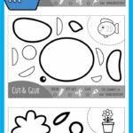 Summer Color, Cut & Glue Practice Sheets