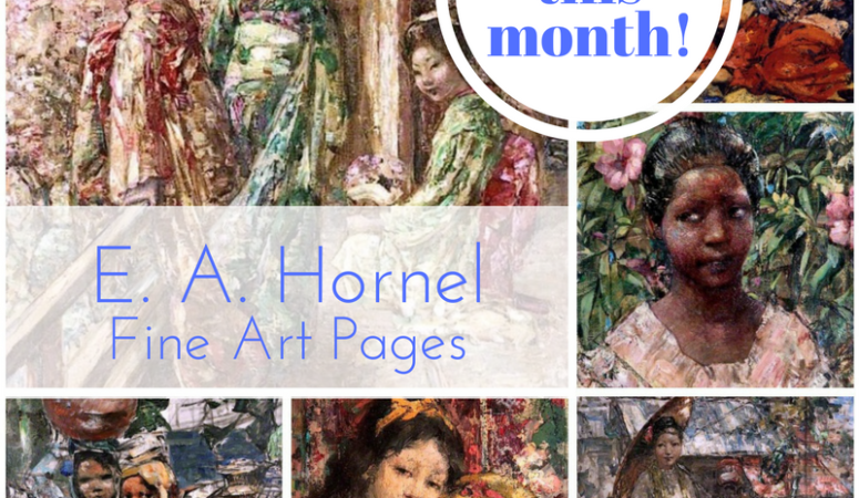 Free Fine Art Pages: E. A. Hornel