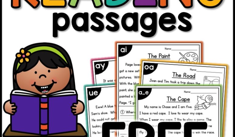 Free CVCe Reading Passages Worksheets