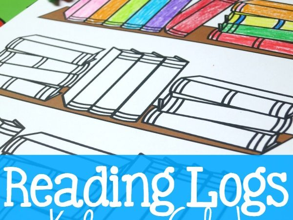Free Color-in Reading Log