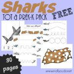 Shark Printables for PreK-5th Grade
