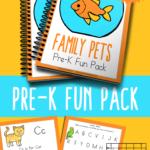 Family Pets PreK Freebie