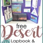 Free Desert Lapbook Printables