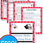 Library Skills Fun Pack Freebie