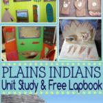 Free Plains Indians Lapbook