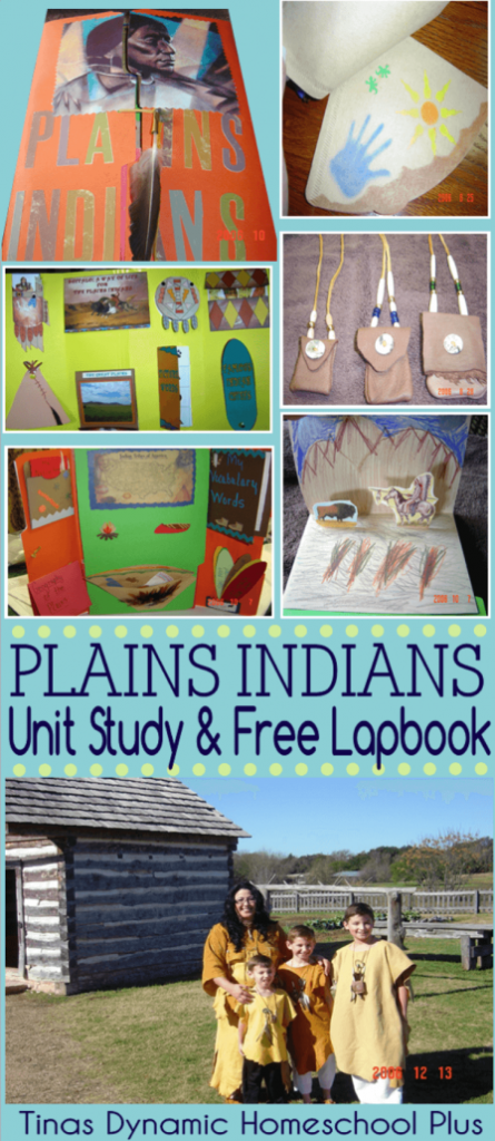 Students will enjoy learning more about the Plains Indians of the United States with this free Lapbook. :: www.thriftyhomeschoolers.com