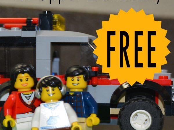 LEGO Printables for Upper Elementary