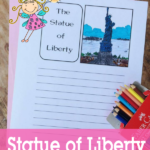 Free Statue of Liberty Notebooking Pages
