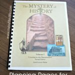 Printable Mystery of History Planning Pages
