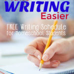 Free Essay Writing Schedule for Homeschoolers