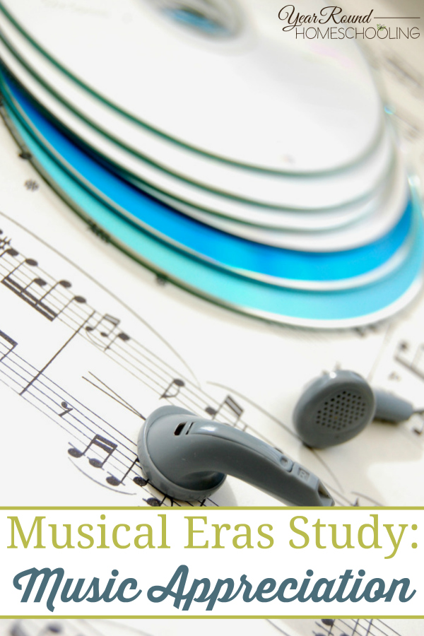 This Music Appreciation Music Study Unit is perfect for middle or high school students and a great way to introduce music in to your homeschool! :: www.thriftyhomeschoolers.com