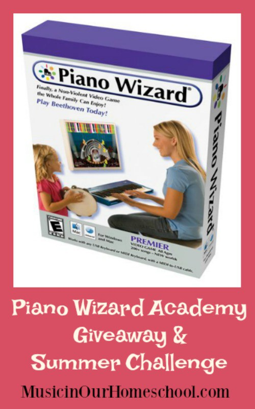Don't miss your chance to win one of three copies of Piano Wizard Academy Premier version from Music in Our Homeschool! :: www.thriftyhomeschoolers.com