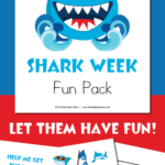 Shark Week Fun Pack Freebie