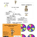 Vocabulary Mystery Game Freebie