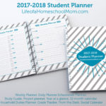LIMITED TIME FREEBIE: 2017-2018 Homeschool Student Planner