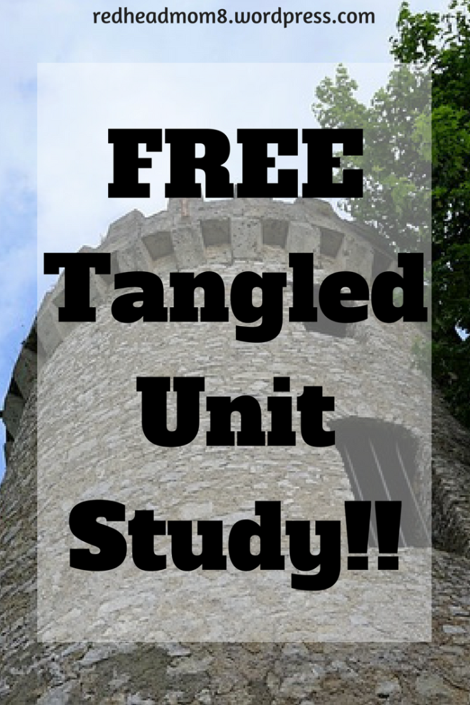 Do you have a Tangled fan in your home? Don't miss this FREE Unit Study based on the Disney movie favorite! :: www.thriftyhomeschoolers.com