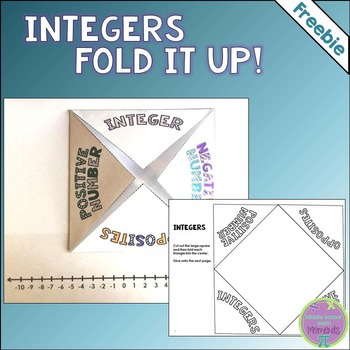Is your middle schooler struggling to remember all the new terms in math? Grab this free Integers Fold It Up printable to help and make it fun too! :: www.thriftyhomeschoolers.com