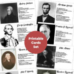 US Presidents Facts & Information {Printable Cards}