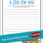 Free Writing Prompt: A Zoo for You