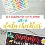 Free Summer Checklist
