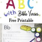 Free ABC Bible Verses Printables