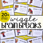 Free Wiggle Brain Breaks Cards