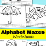 ABC Maze Worksheets