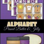 Peanut Butter & Jelly Alphabet
