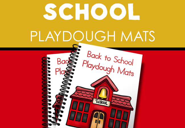 Free Playdough Mats for Back-to-School