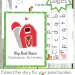 Free Big Red Barn Storybook Activities