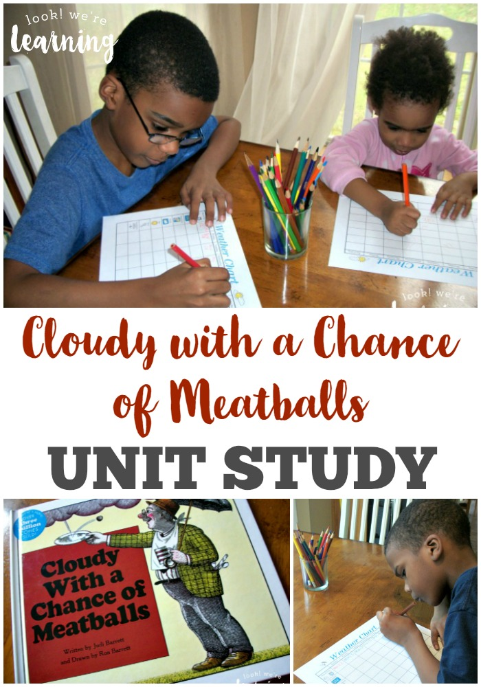 If your kids love the books and movies, don't miss this fun and FREE Unit Study about Cloudy with a Chance of Meatballs! :: www.thriftyhomeschoolers.com