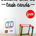 STEM Building Shapes Task Cards