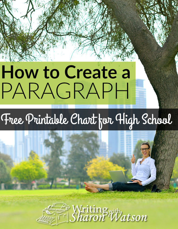 Help your high schooler learn how to craft a perfect paragraph with this free printable chart. :: www.thriftyhomeschoolers.com