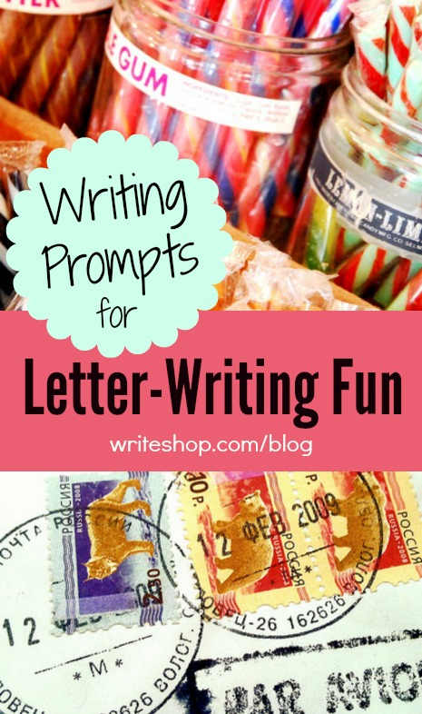 Help kids work on their creativity, handwriting and grammar with these 4 fun writing prompts! :: www.thriftyhomeschoolers.com