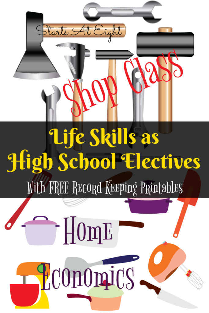 Help your high schooler learn all about life skills, while earning credits for graduation! :: www.thriftyhomeschoolers.com