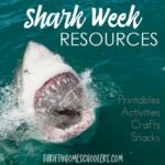Shark Week Resources {printables, activities, snacks}