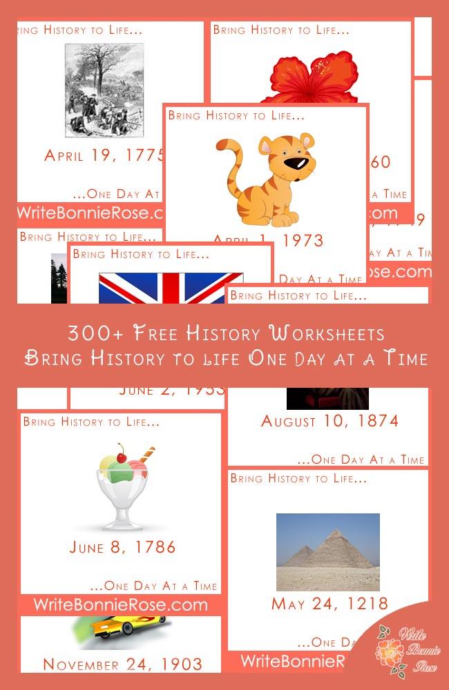 free history timeline printables. Black Bedroom Furniture Sets. Home Design Ideas