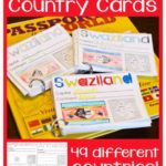 Printable World Geography Cards